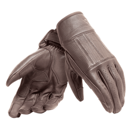 HI-JACK UNISEX GLOVES DARK-BROWN- Leather