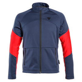 HP2 MID FULL ZIP MAN BLACK-IRIS/CHILI-PEPPER/HIGH-RISK-RED- Couches Externes