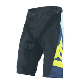 HUCKER SHORTS GREY/YELLOW