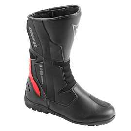 TEMPEST D-WP BOOTS BLACK/RED