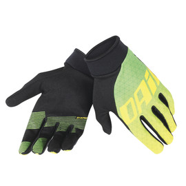 DRIFTEC GLOVES GREEN/YELLOW