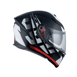 K-5 S E2205 MULTI - DARKSTORM MATT BLACK/RED