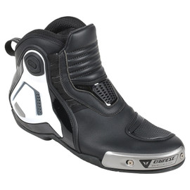 DYNO PRO D1 SHOES BLACK/WHITE/ANTHRACITE- Leather