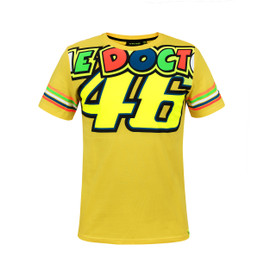 THE DOCTOR 46 T-SHIRT YELLOW