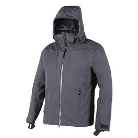ALTING D-DRY JACKET BLACK/ANTHRACITE-MELANGE/BLACK