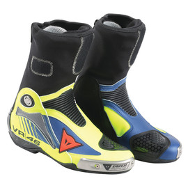 R AXIAL PRO IN AIR REPLICA D1 BOOTS VAL 16 GIALLO-FLUO/BLU-YAMAHA