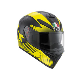 K-3 SV E2205 MULTI - GLIMPSE BLACK METAL/YELLOW