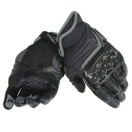 CARBON D1 SHORT LADY GLOVES BLACK/BLACK/BLACK