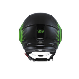 FLUID AGV E2205 MULTI - PIX BLACK/GREEN