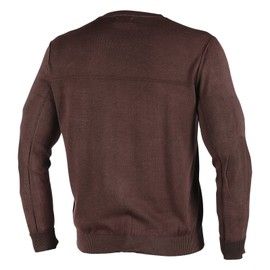 HELMORE SWEATER DARK BROWN