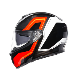 SPORTMODULAR MULTI E2205 - SHARP CARBON/RED/WHITE - Helme