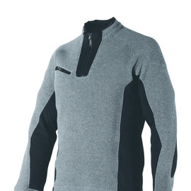 ARIES SWEATER STEEL-GRAY/BLACK