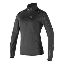 FLEECE LADY SMALL ZIP E1  BLACK/GRAY