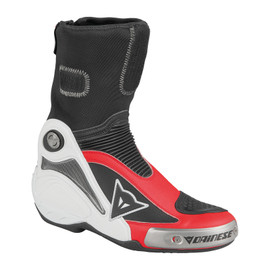 R AXIAL PRO IN BOOTS WHITE/DUCATI-RED