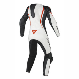 ASSEN 1 PC. PERF. LADY WHITE/BLACK/RED-FLUO- Professionnelles