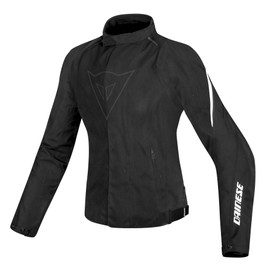 LAGUNA SECA D1 LADY D-DRY JACKET BLACK/WHITE