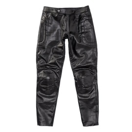 PIEGA72 LEATHER PANTS BLACK- Dainese72