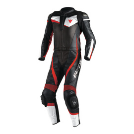 VELOSTER 2 PIECE SUIT BLACK/WHITE/FLUO-RED