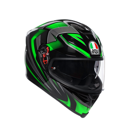 K-5 S E2205 MULTI - HURRICANE 2.0 BLACK/GREEN
