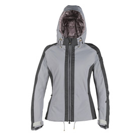 EPAULE D-DRY® JACKET LADY STEEL-GRAY/ANTHRACITE-MELANGE