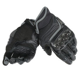 CARBON D1 SHORT GLOVES BLACK/BLACK/BLACK