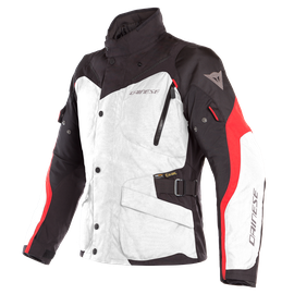 TEMPEST 2 D-DRY® JACKET LIGHT-GRAY/BLACK/TOUR-RED