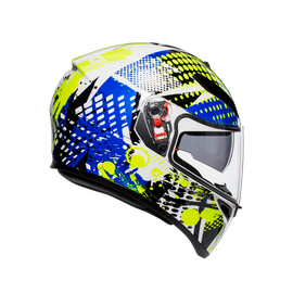 K-3 SV MULTI ECE DOT - POP WHITE/BLUE/LIME