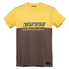 DUNES T-SHIRT MOREL/OLD-GOLD
