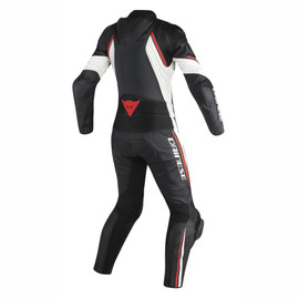 AVRO D2 2 PCS LADY BLACK/WHITE/RED-FLUO