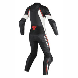 AVRO D2 2 PCS LADY BLACK/WHITE/RED-FLUO- Two Piece Suits