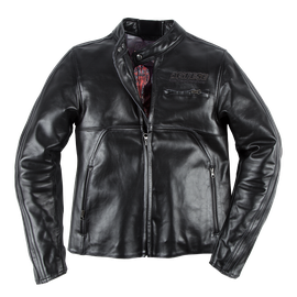 TOGA72 PERF. LEATHER JACKET BLACK