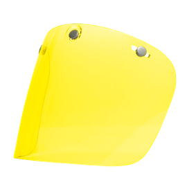 Visor FLAT LEG-2 YELLOW