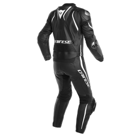 LAGUNA SECA 4 2PCS S/T SUIT BLACK-MATT/BLACK-MATT/WHITE- Deux Pieces