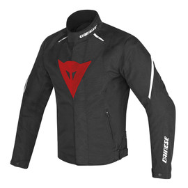 LAGUNA SECA D1 D-DRY® JACKET BLACK/RED/WHITE