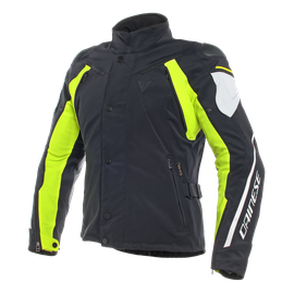 RAIN MASTER D-DRY JACKET BLACK/GLACIER-GRAY/FLUO-YELLOW