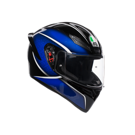 K1 MULTI ECE DOT - QUALIFY BLACK/BLUE
