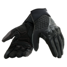 X-MOTO UNISEX GLOVES BLACK/ANTHRACITE