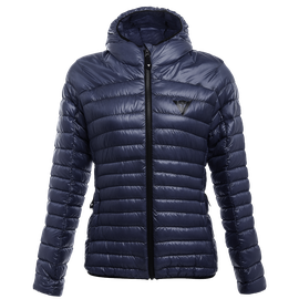 PACKABLE DOWNJACKET LADY BLACK-IRIS