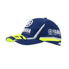YAMAHA VR46 CAP BLUE-ROYAL-YAMAHA