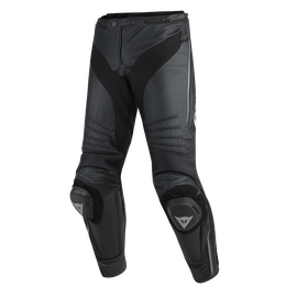 MISANO PERFORATED LEATHER PANTS BLACK/BLACK/ANTHRACITE