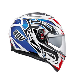 K-3 SV E2205 MULTI - ROOKIE WHITE/BLUE/RED