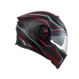 K-5 S AGV E2205 MULTI PLK - DEEP BLACK/WHITE/RED