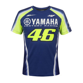 YAMAHA VR46 T-SHIRT BLUE-ROYAL-YAMAHA