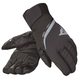 CARVED LINE D-DRY GLOVE  BLACK/STEEL-GRAY