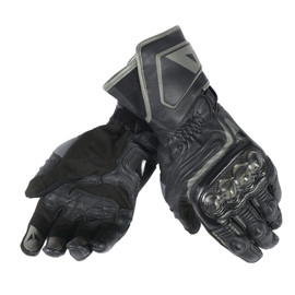 CARBON D1 LONG GLOVES BLACK/BLACK/BLACK- Leather