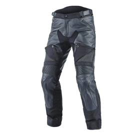 CRUISER D-DRY LEATHER PANTS BLACK/BLACK