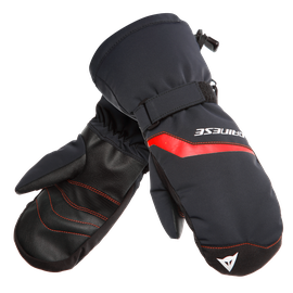 SCARABEO GLOVES STRETCH-LIMO/HIGH-RISK-RED