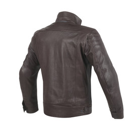 BRYAN LEATHER JACKET BROWN