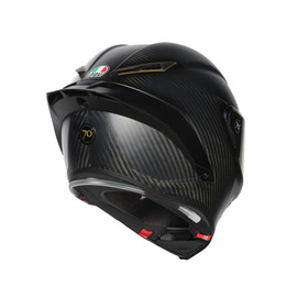 PISTA GP R LIMITED EDITION ECE DOT PLK - ANNIVERSARIO MATT CARBON - Pista GP R