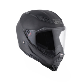AX-8 NAKED CARB.AGV E05 SOLID - CARBON MATT - Promotions
